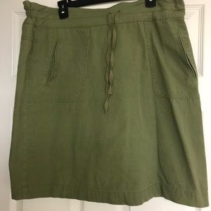 Downeast Olive green Skirt